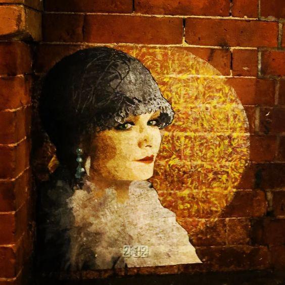 Thinking... #streetart #wheatpaste #pasteups #les #nystreetart
