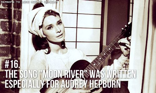 Reasons To Love Audrey Hepburn