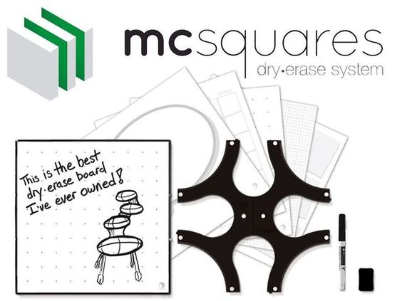 Mc Squares -- Pizarras modulares multi usos