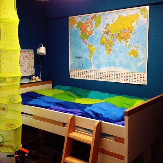 IKEA/子供部屋 …などのインテリア実例 - 2014-03-20 17:51:44 | RoomClip(ルームクリップ)