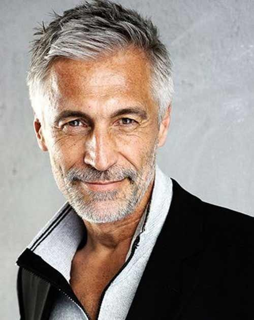 30 Grey Hair Styles For Men To Turn Into Silver Foxes 50 Gray Hair Styles Trending In 2019 Hair Adviser 1 Older Mens Hairstyles Grey Hair Men Old Man Haircut