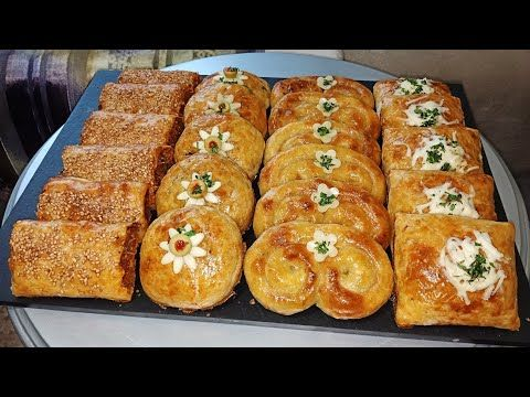 بلاطو مملحات اربعة اشكال من عجينة واحدة و حشوات مختلفة تشكيلة متنوعة بطريقة سريعة و مختصرة Youtube Breakfast Food Toast