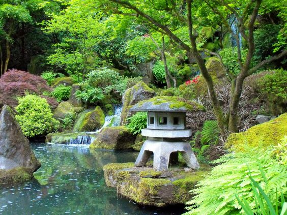 Japanese Gardens  Portland