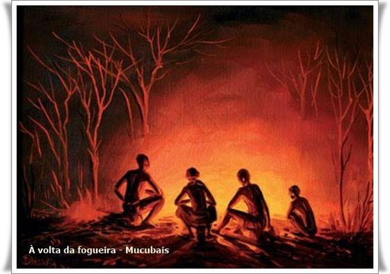 Na fogueira - Mucubais