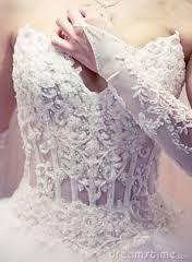 Resultado de imagem para espartilho vestido casamento