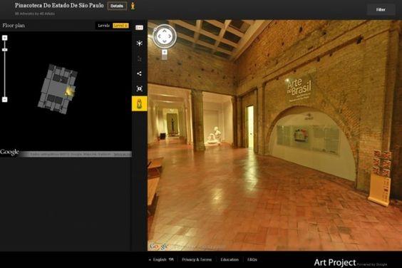 """O Google expandiu seu projeto """"Art Project"""" para o Brasil, com a inclusão do MAM, onde podem ser visualizadas 89 obras, e a Pinacoteca de São Paulo, com 98 obras. Em cada um dos locais foi escolhida uma obra para ser exibida com a incrível resolução de 7 bilhões de pixels. Na INFO Online ♦ http://cliplink.com.br/6453"""