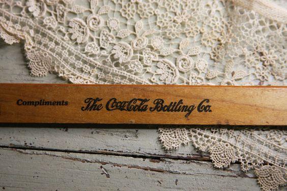 Coca-Cola Bottling Company Ruler Coke by VintageSupplyCo on Etsy