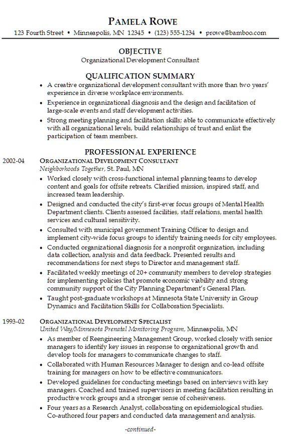 resume volunteer coordinator position