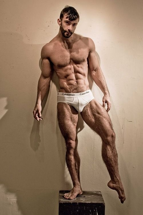 Muscular Hairy Legs