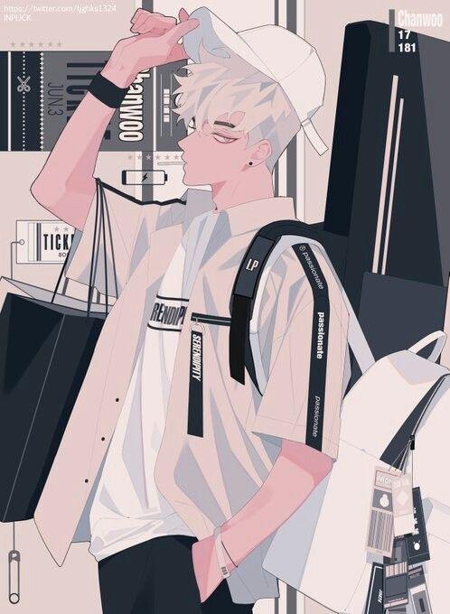 By Inplick Anime Drawings Boy Korean Anime Anime Boy