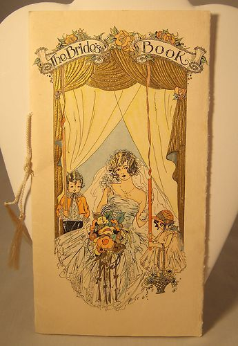 Mouse over image to zoom                                                                                                                                                                                                                                                                                                                                   Sell one like this         Vintage 1927 Brown & Bigelow The Bride's Book Wedding Marriage