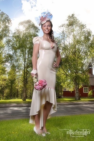 Pin on Latex dress