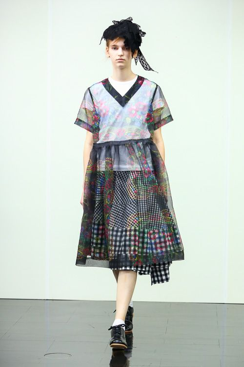 tricot COMME des GARÇONS 2014SSコレクション Gallery1