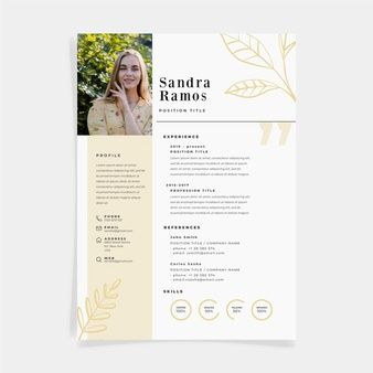 Download Cv Template Minimal Theme For Free In 2020 Cv Template Curriculum Template Minimalist Resume Template
