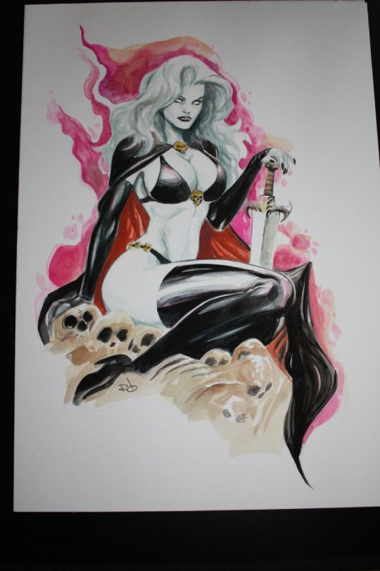 Lady Death-Romano Molenaar
