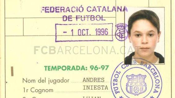 Andres Iniesta, un crack jove