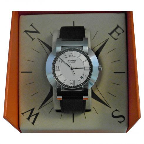 hermes nomade compass watch