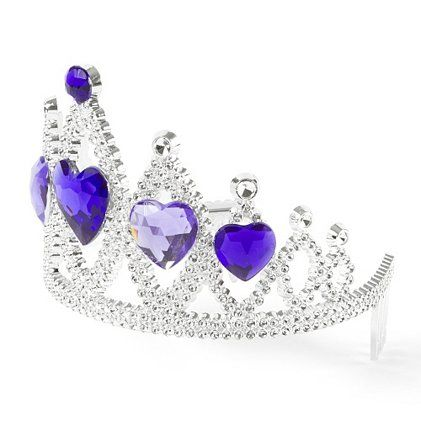 Kids Crystal Hearts Crown Tiara | Claire's