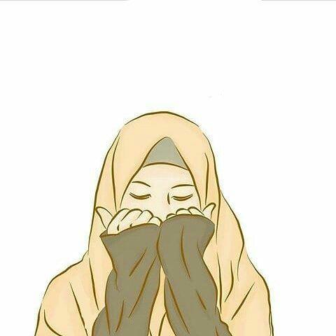 Kumpulan Kartun Hijab Muslimah Cute Jutaan Gambar Hijab Cartoon Anime Muslim Illustration