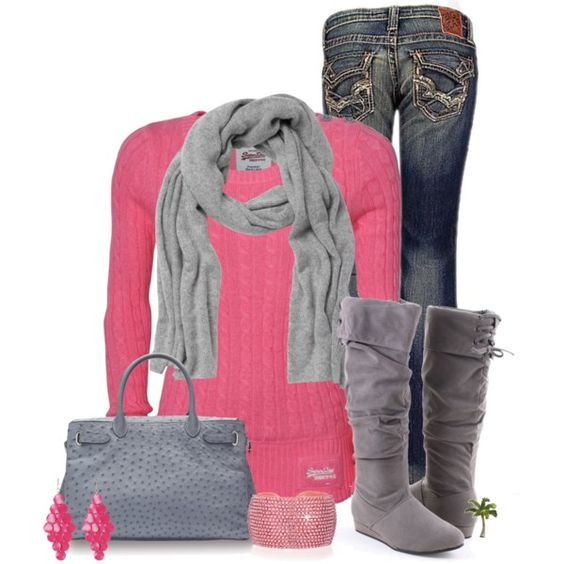 Casual Outfit: Outfits Bubble, Pink Gray, Dream Closet, Winter Outfit, Fall Outfit, Casual Outfits, Women, Fall Winter, Bubble Gum