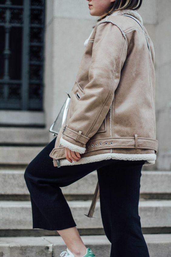 shearling-jacket-streetstyle-navy-suit-zara myblueberrynightsblog