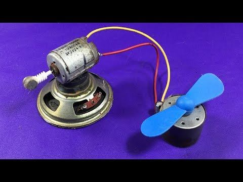 How To Make A Electricity Free Energy Device In Speaker Magnet
