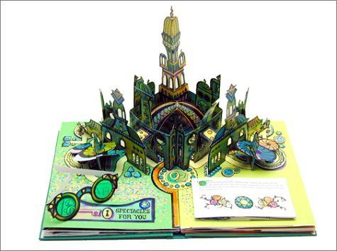 popup - wizard of oz - My kids have this one & love it, especially the tornado & Emerald City pages. I am so impressed with the details.: