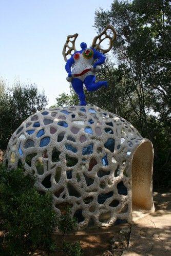 Niky de saint phalle la temp rance le jardin des - Le jardin des tarots niki de saint phalle ...