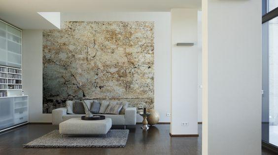 Livingwalls Fototapete Vintage plaster wall (L) 046732