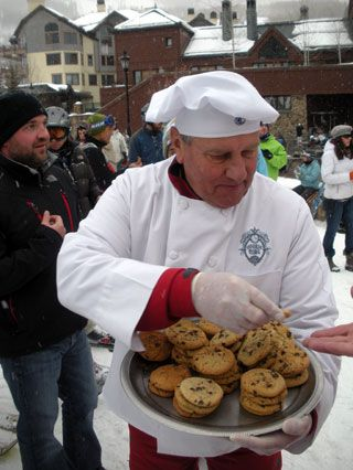 Get your afternoon cookie at Beaver Creek at 3 pm. Book your ski season lodging at The Christie Lodge now: 888.325.6343 or www.christielodge.com