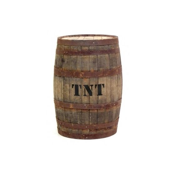 barrels wild west decorations and wild west party on