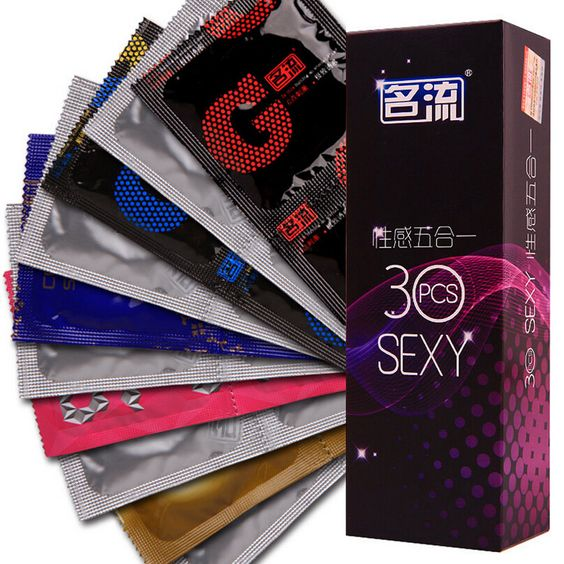 30pcs Box Brand 5 In 1 Quality Spike Ribs G Spot Exciter Small