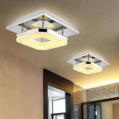 Luninarias 8 w led luces de techo modernas l mpara para for Lamparas para salas pequenas