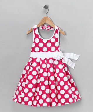 The girl's dress for Auntie Michelle's wedding!!