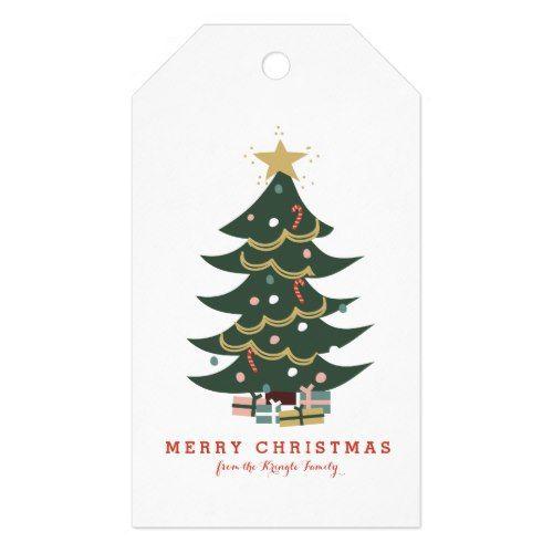 Christmas Tree Gift Tags Zazzle Com Christmas Tree Gift Tags Christmas Tree With Gifts Tree Gift