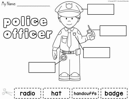 Kindergarten Police Officers Worksheet Servicenumber Org Community Helpers Police Officer Community Helpers Police Community Helpers Police worksheets for kindergarten