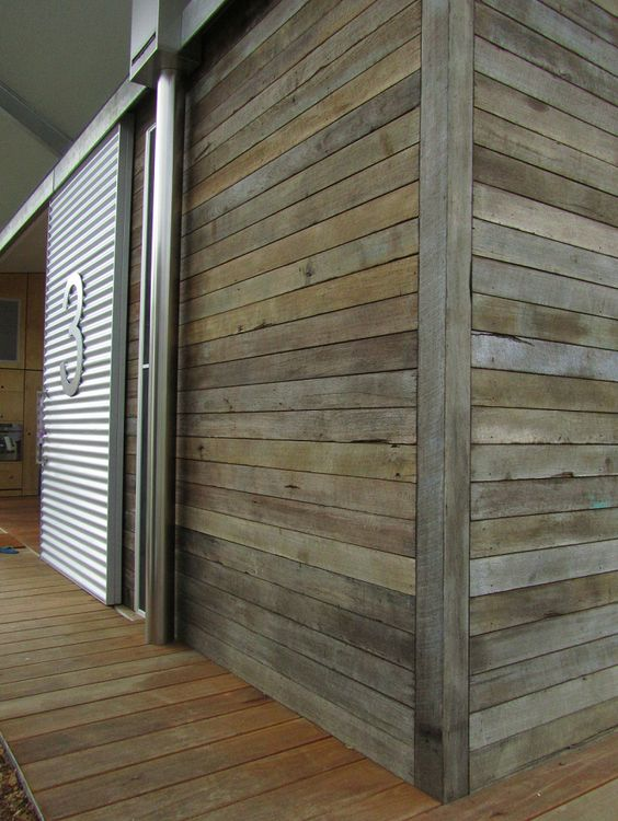 Glass Panels Timber Boards And Timber Cladding On Pinterest