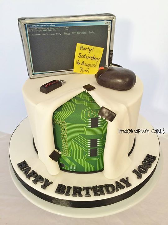 Science cake, Computer science and Computers on Pinterest