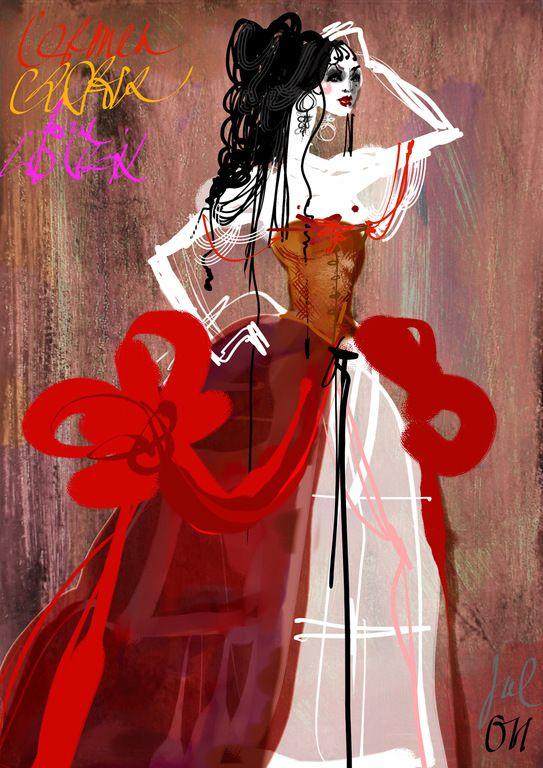 Les héroïnes d'opéra dessinées par Christian Lacroix                                                                                                                                                                                 Plus