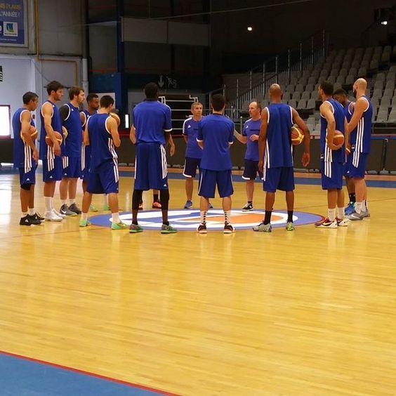 C'est reparti pour une saison ! #basket #cbcnation #bball #ffbb #LNB #plushaut #Caen #Playoffs #NM1 by caenbc14