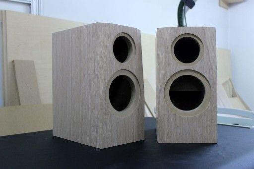 Fronty Do Kolumn Diy Audio Frezowanie Cnc