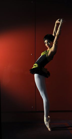 Fernanda Oliveira as Carmen, English National Ballet. Photographed by Annabel Moeller.