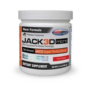 USP Labs Jack3d Micro $59.95