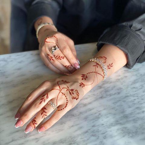 Alhawi N7 Instagram Photos And Videos Henna Tattoo Designs Hand Rose Mehndi Designs Mehndi Design Photos