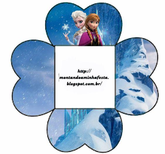 Montando minha festa: Frozen - Uma Aventura Congelante