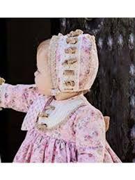 Resultado de imagen de ropa de bebe alta costura