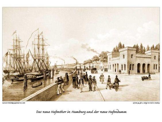 Hafentor und Hafendamm
