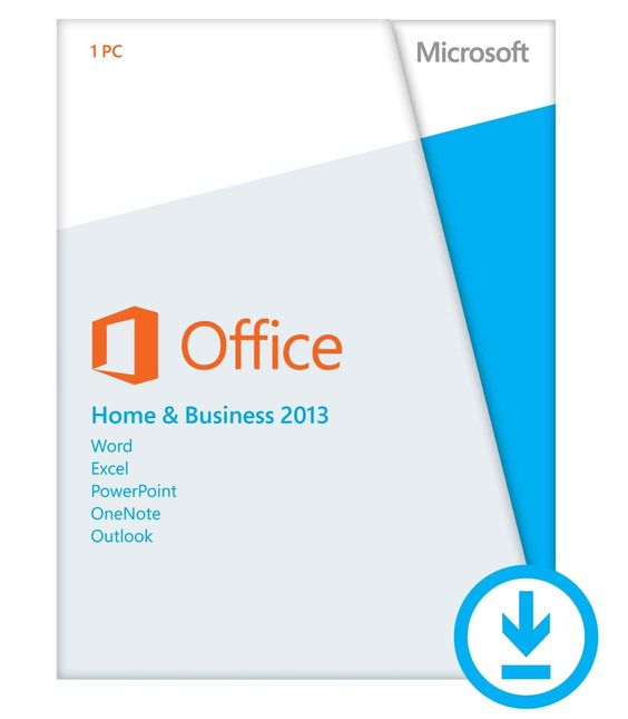 Microsoft Office Home and Business 2013 - License - 1 PC - download