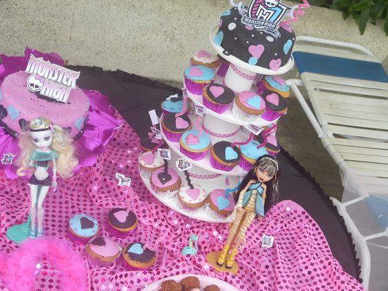 Torta y ponque... Monster High 2012