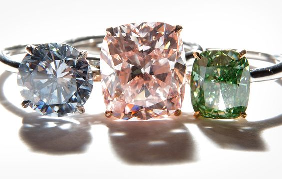 The Special Four Cs of Fancy Color Diamonds